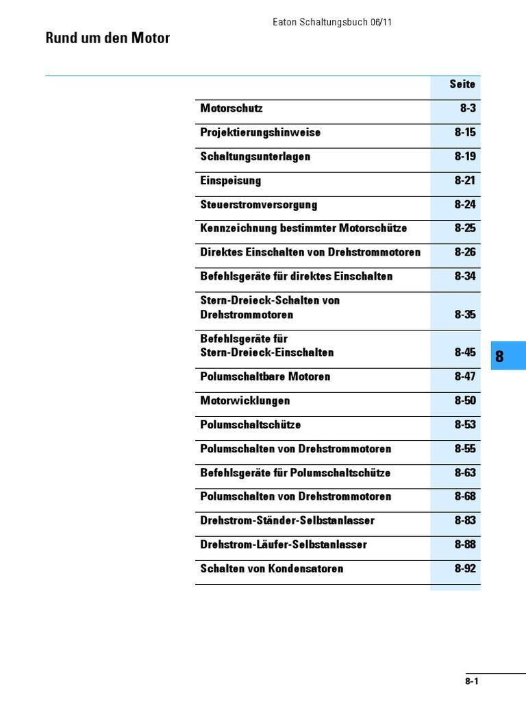 Großartig Schaltplan Für 3 Phasen Motorstarter Galerie - Elektrische ...