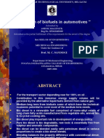 Applications of Biofuels