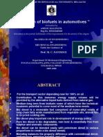 Applications of Biofuels