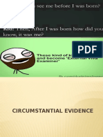 2.Circumstantial Evidence (1)