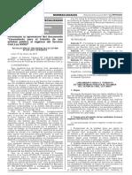 Formalizan la aprobación del documento Lineamiento para el tránsito de una entidad pública al régimen del Servicio Civil Ley 30057