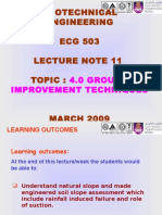 Docslide.net Geotechnical Engineering Ecg 503 Lecture Note 11 Topic 40 Ground Improvement