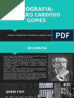 Biografia de Álvaro Cardoso Gomes
