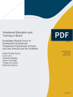 Vocational Education Training Brazil