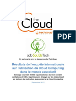 Rapport Enquete Techno Asso Cloud France FR