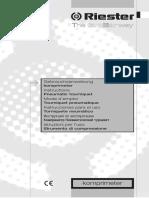 Manual de Usuario Torniquete Neumatico Riester Comprimeter