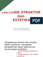 4 Tektonik Struktur & Estetika