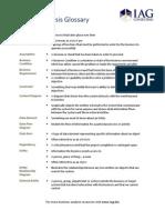 Business Analysis Glossary