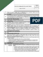 Instructivo de Configuración de Corrector Actaris Rev01