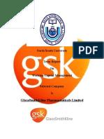 report on GlaxoSmithKline