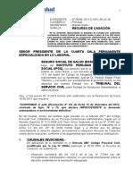 Casación por declarar la Caducidad de la Acción contra SERVIR-3años para demandar.doc