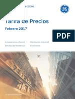 201703 Gepc Tarifa 2017 Spain Lr