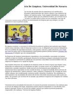 Presentación. Servicio De Limpieza. Universidad De Navarra