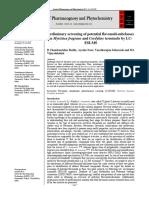 jurnal internasional Cordyline Fruticosa (L.) A.Chev 2