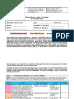 Mentoring Control Sheet DGL of Bombay
