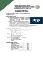 Plan General Sistemas Gerenciales II