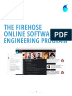 Firehose Project Software Engineering Curriculum