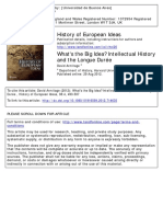 Armitage - What's the Big Idea Intellectual History and the Longue Duree