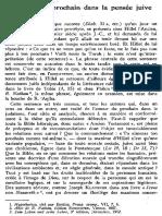 K. HRUBY, L'Amour Du Prochain Dans La Pensée Juive