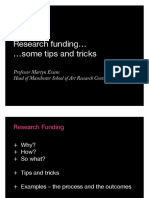 Research Funding Graduate School