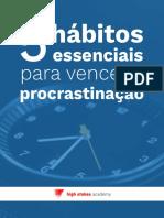eBook 5 Habitos Procrastinacao