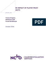 Plater Trust Report