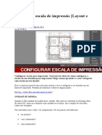 Configurar Escala de Impressão