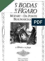 As Bodas de Figaro - Mozart, Da Ponte e Beaumarchais
