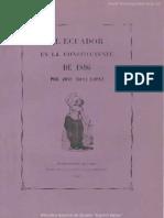 Ecuador en la constoituyente de 1896.pdf