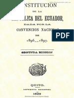 Constitucion 1896