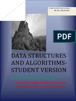 STUDENT VERSION -017 Data Structures and Algorithms V1