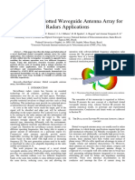 Artigos - 2015 - A Dual-band Slotted Waveguide Antenna Array for Radars Applications