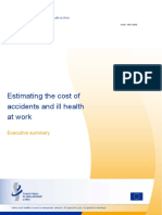 Estimating the Cost of Accidents and Ill Health at Work