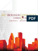 2017 BioLogos Conference Program
