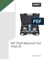 Manual Alineador Laser TKSA 20