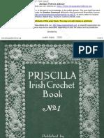 Priscilla Irish Crochet Book No1