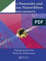Carbon Nanotube and Graphene Nanoribbon Interconnects (2014)