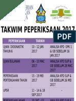 TAKWIM PEPERIKSAAN 2017 - Copy.ppt