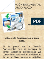 Exposicion Conservacion Documental