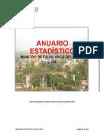 Anuario Estadístico de Tuluá 2013