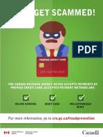 Fraud awareness poster