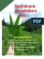 Legalización Del Uso de Marihuana Medicinal.perú.Dr