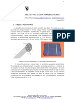 Modulo Fotovoltaico Para Gerador Solar de Eletricidade Solenerg Out14