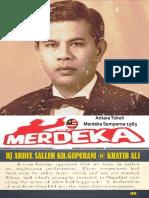 Hj Abdul Salleh - Bajau Omadal Isthihar Perang dengan Bristish....