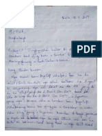 Mawryngkneng Rape Victim's Letter to Meghalaya State Commission for Protection of Child Rights