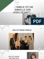 Die Familie Ist Die Keimzelle Der Gesellschaft