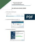 Tutorial Instalasi Aplikasi Viewer