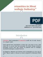 opportunityinindoensianmeatintermediateindustry-140116204328-phpapp02