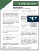 Case Study - Building a Corporate Philanthropy Program