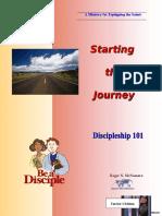 Discipleship 101 - Starting the Journey